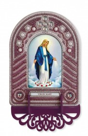Набор для вышивки иконы с рамкой-киотом Virgin Mary (Дева Мария) Новая Слобода (Нова слобода) ВК1023 - 205.00грн.