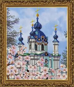 Набор для вышивки в смешанной технике Андреевская церковь Новая Слобода (Нова слобода) ННД3011 - 230.00грн.