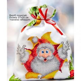 Пошитый мешочек для подарочков Домовой