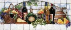 Набор для выкладки алмазной мозаикой Фруктовые вина DIAMONDMOSAIC DM-050
