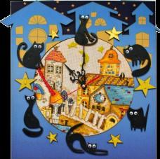 Набор для вышивки в смешанной технике Кошкин дом Новая Слобода (Нова слобода) РТ6513