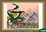 Рисунок на ткани для вышивки бисером В Сиднее