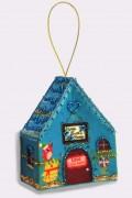 Набор для изготовления игрушки из фетра для вышивки бисером Домик