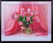 Набор для вышивки бисером Настроение Тюльпаны