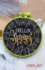 Набор для вышивки крестом Весна Абрис Арт АНМ-012