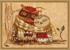Набор для вышивки крестом Семейное тепло, , 136.00грн., СР4221, Новая Слобода (Нова слобода), Вышивка на дизайнерской канве