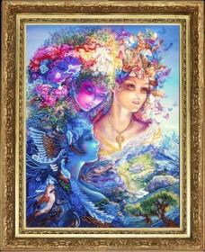 Набор для вышивки бисером Три грации (по картине Дж. Уолл) Баттерфляй (Butterfly) 818Б - 264.00грн.