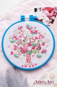 Набор для вышивки крестом Расцветает