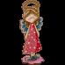 Набор для вышивки бисером по дереву Ангел Девочка Волшебная страна FLK-251