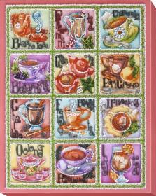 Набор для вышивки бисером Чайная карта Абрис Арт АВ-696 - 468.00грн.