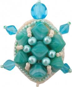 Набор для изготовления броши Черепаха Cristal Art БП-224 - 86.00грн.