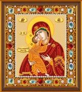 Набор для вышивки бисером Богородица Владимирская