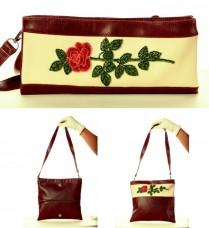 Сумка-клатч для вышивки бисером Роза Баттерфляй (Butterfly) LB 042