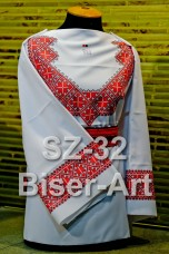 Заготовка для вышивки бисером Сорочка женская Biser-Art Сорочка жіноча SZ-32 (льон)