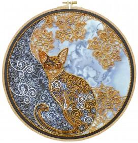 Набор для вышивания бисером Лунный кот Абрис Арт АВ-709 - 500.00грн.