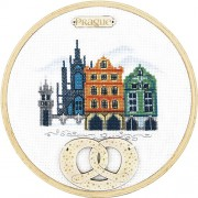 Набор для вышивки крестиком Прага