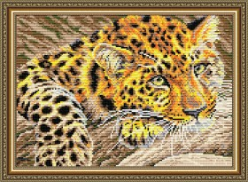 Набор для выкладки алмазной техникой Ягуар, , 400.00грн., АТ3013, Art Solo, Животные