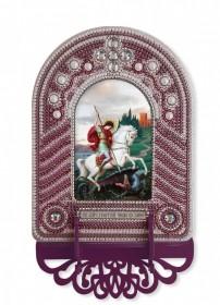 Набор для вышивки иконы с рамкой-киотом Св. Георгий Победоносец Новая Слобода (Нова слобода) ВК1019 - 205.00грн.