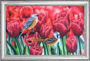 Набор для вышивки бисером Тюльпановый дуэт