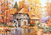 Набор для вышивки крестом Осенний пейзаж
