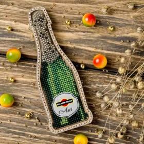 Набор для вышивки бисером по дереву Шампанское  Волшебная страна FLK-356 - 171.00грн.