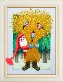 Набор для вышивки нитками З Різдвом!
