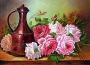 Набор для выкладки алмазной мозаикой Садовые розы