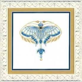 Набор для вышивки крестиком Золотая пыльца Чарiвна мить (Чаривна мить) М-244 - 264.00грн.