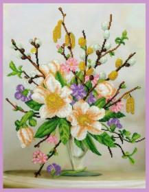 Набор для вышивки бисером Аромат весны Картины бисером Р-301 - 540.00грн.