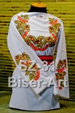 Заготовка для вышивки бисером Сорочка женская Biser-Art Сорочка жіноча SZ-31 (льон)