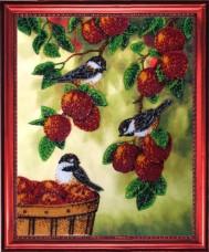 Схема для вышивки бисером на атласе Сбор урожая Баттерфляй (Butterfly) CA 516Б