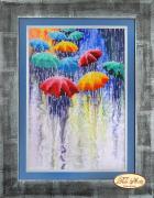 Набор для вышивки бисером Веселые зонтики