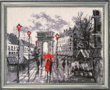 Набор для вышивки бисером Триумфальная арка (по картине О. Дарчук) Баттерфляй (Butterfly) 380Б