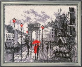 Набор для вышивки бисером Триумфальная арка (по картине О. Дарчук), , 454.00грн., 380Б, Баттерфляй (Butterfly), Пейзажи