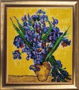 Набор для вышивки бисером Ирисы по мотивам картины Ван Гога