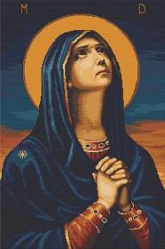 Набор для вышивки крестом Божья Матерь Всех скорбящих радость Luca-S В443 - 635.00грн.