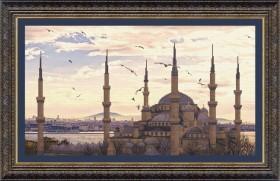 Набор для вышивки крестом Мечеть Султанахмет, , 284.00грн., ВТ-516, Cristal Art, Морская тематика