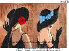 Схема вышивки бисером на атласе Обложка для паспорта Юма СШИТАЯ-Д3