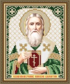 Схемы вышивки бисером на авторской канве Священомученик Епископ Валентин
