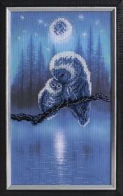 Набор для частичной вышивки крестом Колыбельная, , 319.00грн., РК-130, Чарiвна мить (Чаривна мить), Животные