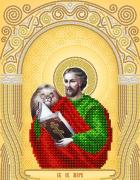 Схема для вышивки бисером на атласе Св. Евангелист Марк