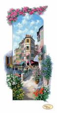 Схема для вишивання бісером на габардине Італійські пейзажи. Венеція Tela Artis (Тэла Артис) ТА-404