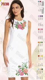 Заготовка женского льняного платья для вышивки бисером Biser-Art Bis7038 - 400.00грн.