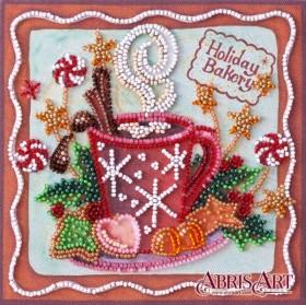 Набор-мини для вышивки бисером на натуральном художественном холсте Аромат праздника Абрис Арт AM-199 - 102.00грн.