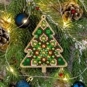 Набор для вышивки бисером по дереву FLK-396