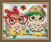 Набор для выкладки алмазной мозаикой Летние совята