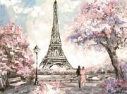 Набор для выкладки алмазной мозаикой Романтика Парижа