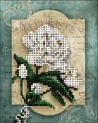 Набор для вышивки ювелирным бисером Цветы 3