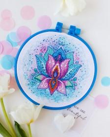 Набор для вышивки крестом Цветок счастья  Абрис Арт АНМ-046 - 142.00грн.