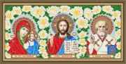 Набор для выкладки алмазной мозаикой Триптих